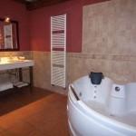 Baño Casa Rural Nº3 con jacuzzi