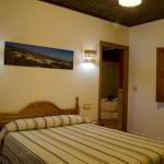 Dormitorio principal de la casa rural Nº3 para 6 personas