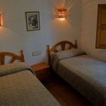 Dormitorio doble Casa Rural Nº1
