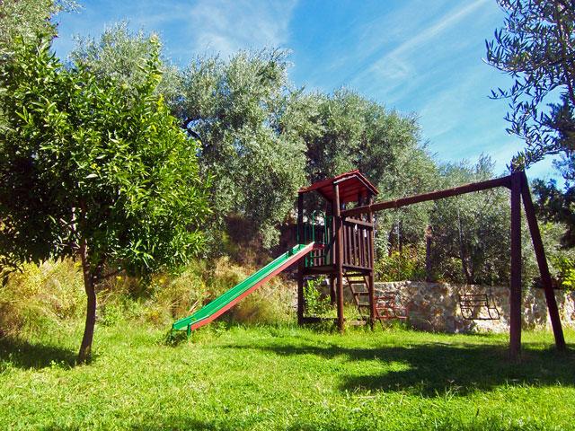 Parque infantil de las casas rurales