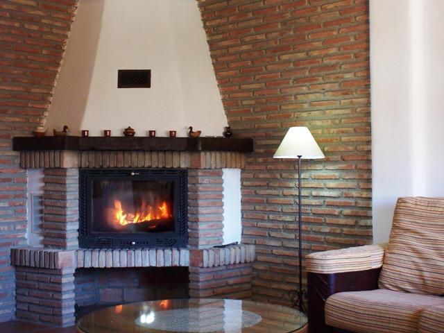 Casa Rural Nº7. Chimenea
