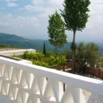 Vista desde la terraza. Casa rural Nº2