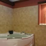 Baño con jacuzzi de la casa rural Nº3