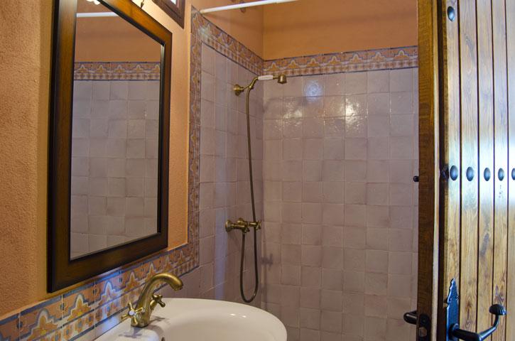 Baño de planta baja Casa Rural Nº7