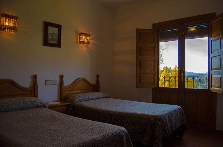 Dormitorio. Casa Rural Nº4