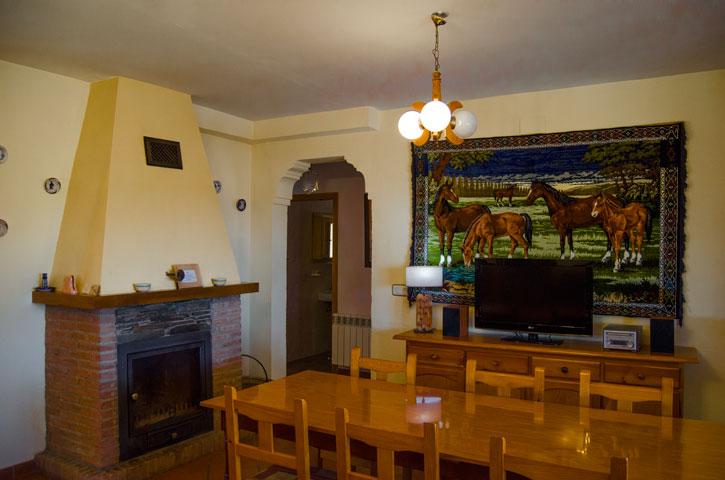 Salón. Casa Rural Nº1