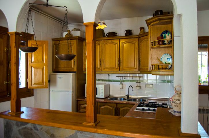 Cocina. Casa Rural Nº4