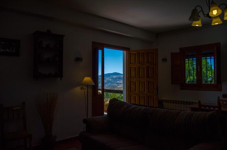 Salón. Casa Rural Nº4