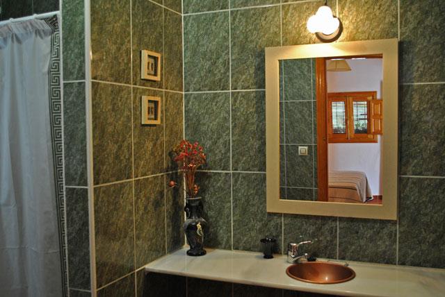 Casa Rural Nº4. Baño de planta baja