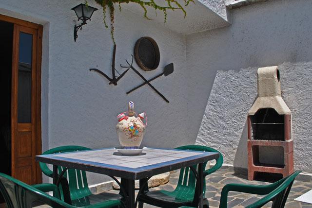 Casa Rural Nº4. Terraza