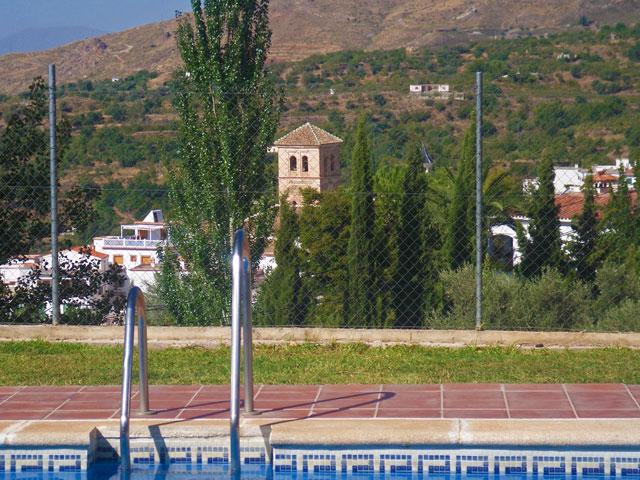 Vistas desde la piscina
