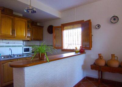 Cocina. Casa rural Nº3