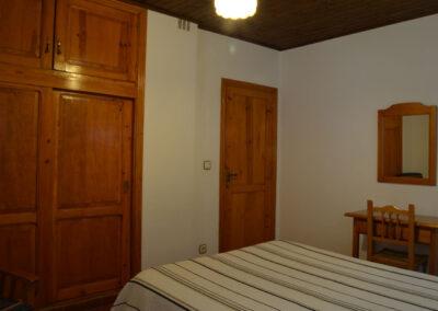 Dormitorio de matrimonio. Casa rural Nº3