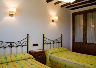 Casa rural Nº9. Dormitorio