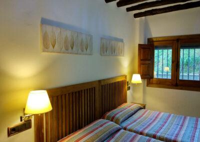Casa rural Nº9. Dormitorio de planta Baja